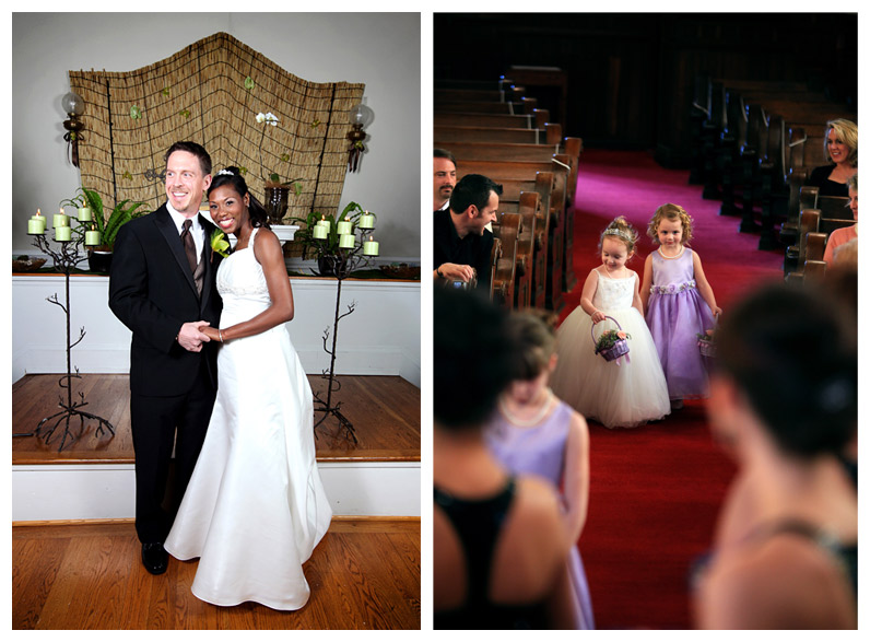 Brentwood Bride and Groom / Tulip Street United Methodist Church Nashville Tennessee
